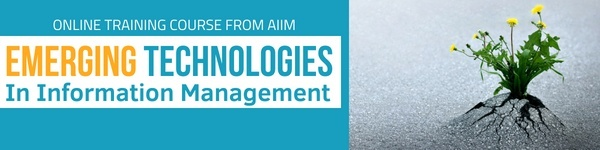 Emerging Technologies in Information Management