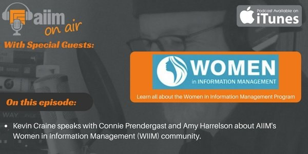 [Podcast] Supporting Women in Information Management