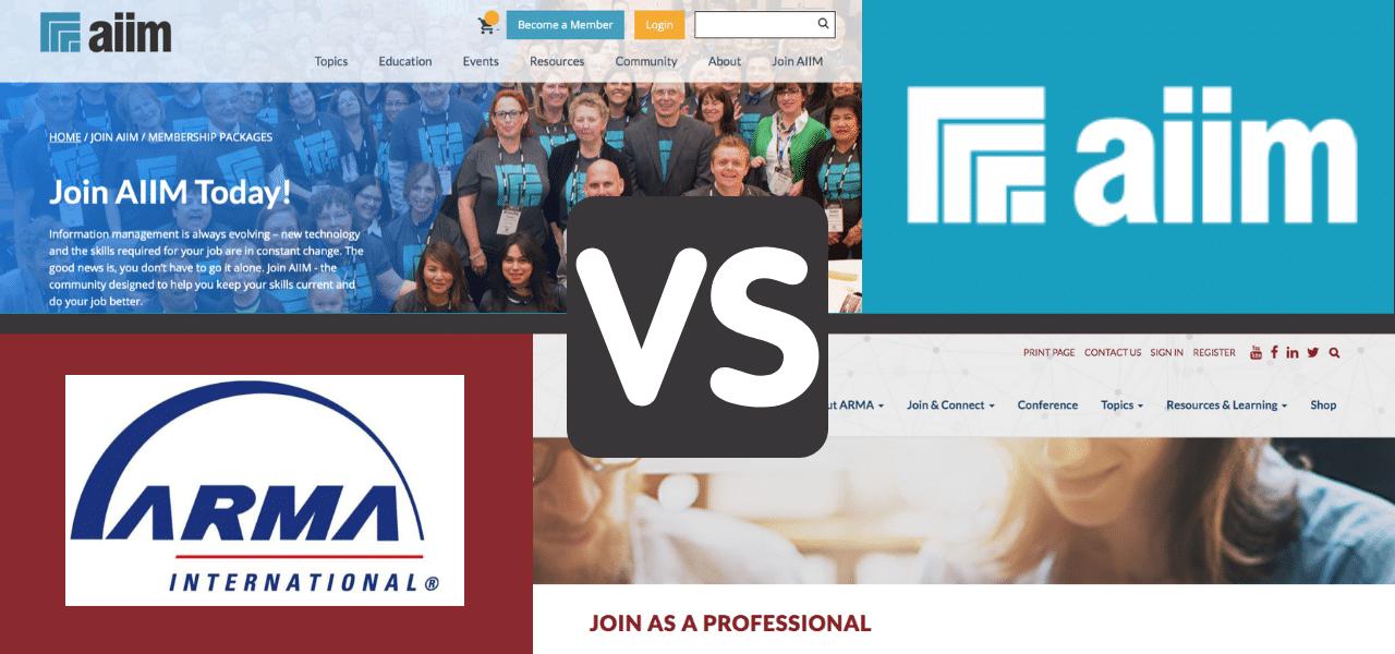 AIIM vs. ARMA: An Honest Comparison of Membership