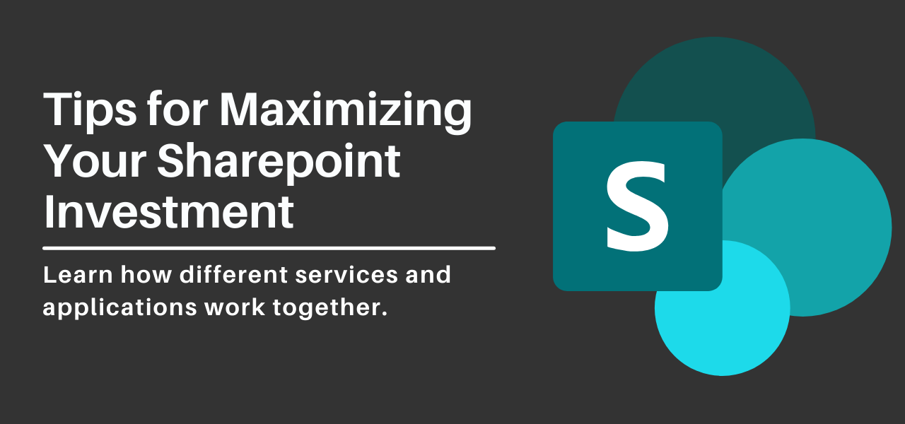Tips for Maximizing Your Sharepoint Investment