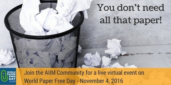 8 MORE Reasons Why World Paper Free Day Matters