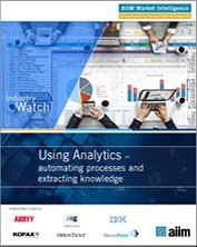 Using Analytics – Automating Processes and Extracting Knowledge