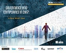 Governance and Compliance in 2017 - A Real World View