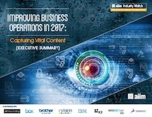 Improving Business Operations in 2017 - Capturing Vital Content