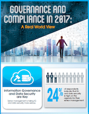 Infographic: Governance and Compliance in 2017 - A Real World View
