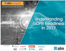 Understanding GDPR Readiness in 2017