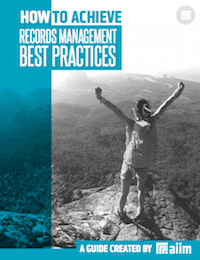 How to Achieve Records Management Best Practices