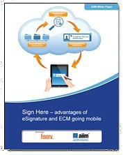 Sign Here: Advantages of eSignature and ECM Going Mobile