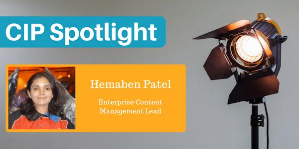 Certified Information Professional Hemaben Patel