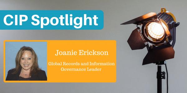 Certified Information Professional Joanie Erickson